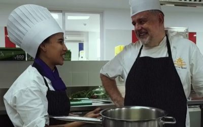 Mao Davin, Academy Scholarship Recipient Starts Successful Chef Career