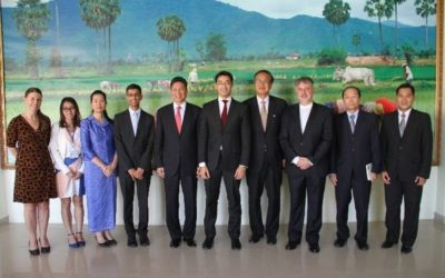 World Economic Forum visit Phnom Penh